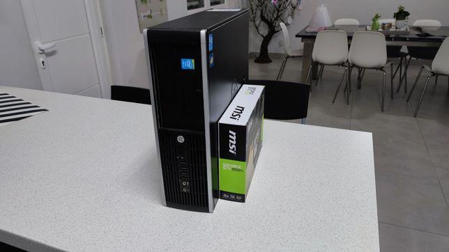 PC Gamer HP + i5 + GTX 1050 Ti (4GB) + 8GB RAM