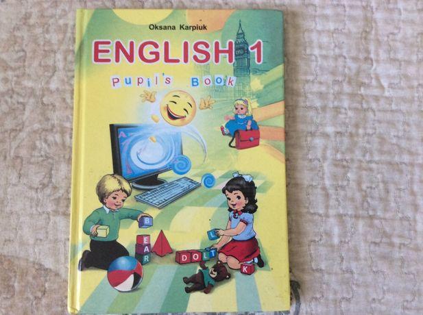 Английский язык 1 класс Англійська мова Карпюк