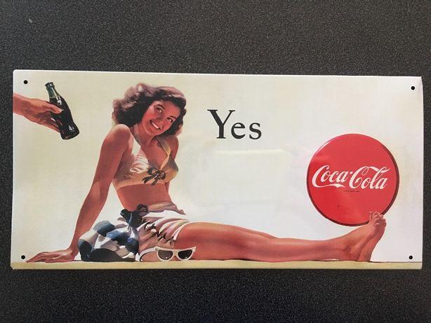 Chapas vintage - publicidade à Coca-Cola