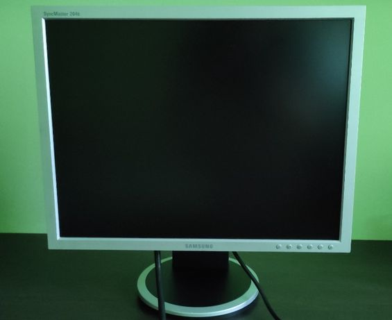 "Monitor Samsung 204B LCD 20"" 1600x1200 Pivot"