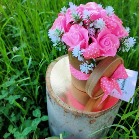 Букет троянд з Мила ручної роботи