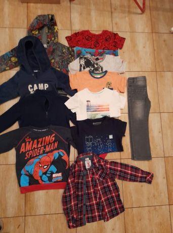 Zestaw ubrań dla chłopca r. 110-116
