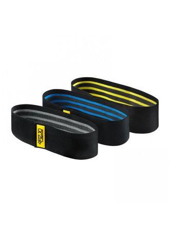 Резинка для фитнеса и спорта тканевая 4FIZJO Hip Band 3 шт