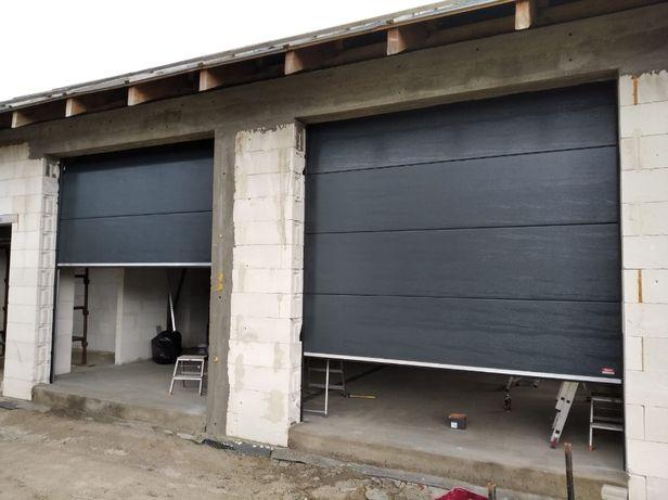 brama garażowa segmentowa OD RĘKI 3000mm x 3000mm 3198zł PRODUCENT