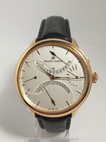 Maurice Lacroix Masterpiece MP7218-PG101-130 Retrograde gold 750