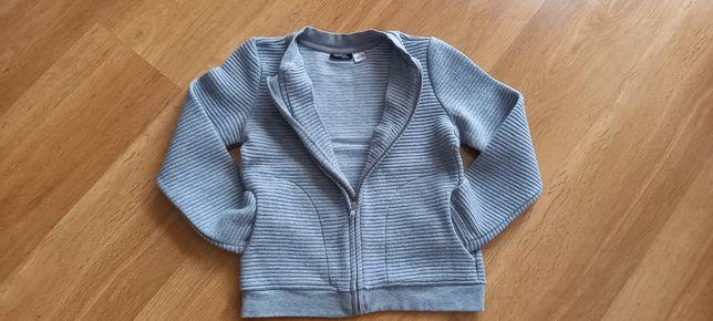 Ciepła bluza dla dziewczynki rozmiar 134/140