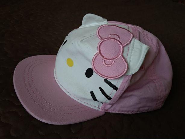 Czapka z daszkiem licencja Hello Kitty H&M rozm. 92 (1,5-2 lata)