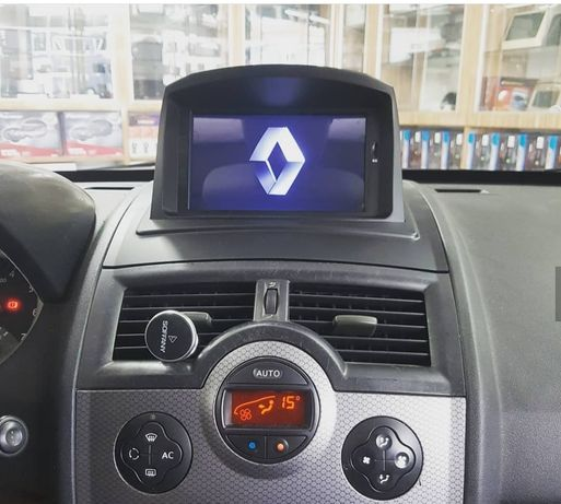 Auto rádio Renault Megane 2 (2002 a 2008) gps dvd Bluetooth android