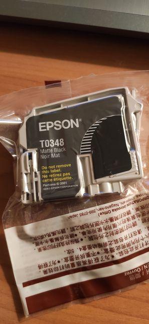 Картридж черный epson black t0348 canon cli-521 новые