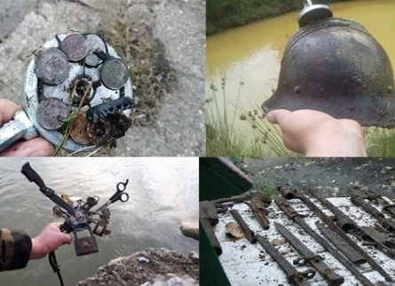Курс молодого археолога. Работа с металлоискателем, поисковым магнитом
