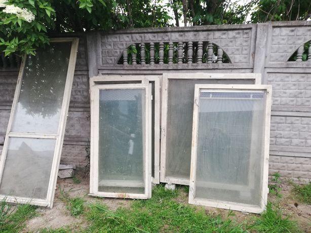 Okna drewniane używane