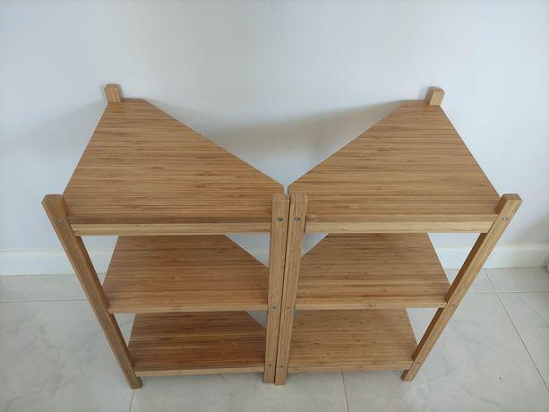 Estante Ragrund para lavatório/canto em bambu