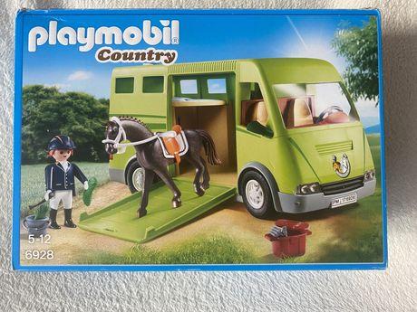 Playmobil Country Pojazd do przewozu koni 6928 kamper