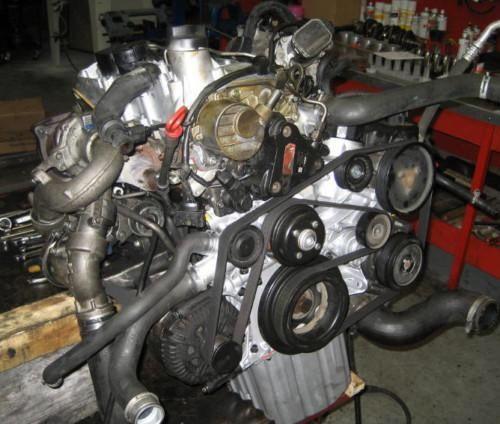 Mercedes sprinter двигатель мотор двигун 2.2 2.7 om612 646 611