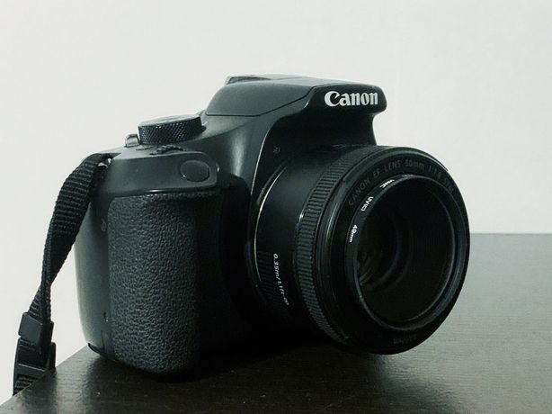 Canon EOS 1300D + Canon 50mm 1.8 STM + Canon 15-55mm