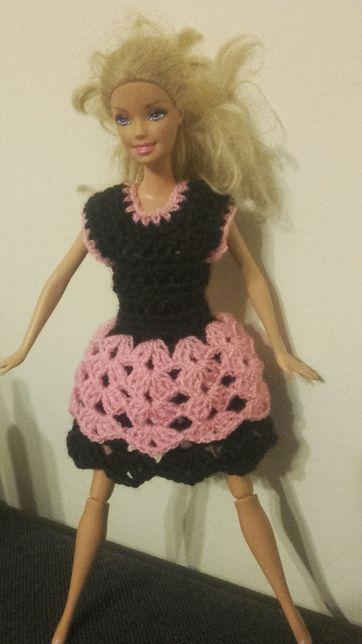 Sukienka na lalki Barbie