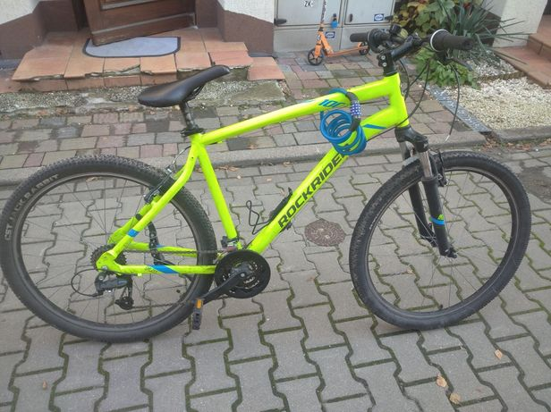 Rower btwin st100 kolor zielony