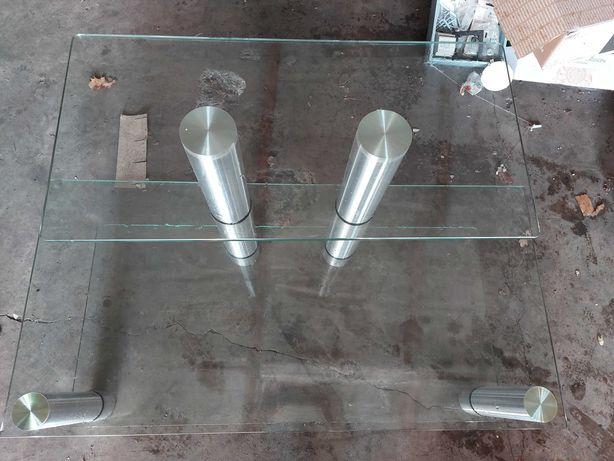 Stolik pod telewizor szklany