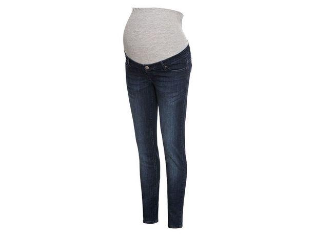 NOWE Jeansy ciążowe ESMARA (Lidl) r. 44 ciemnoniebieskie