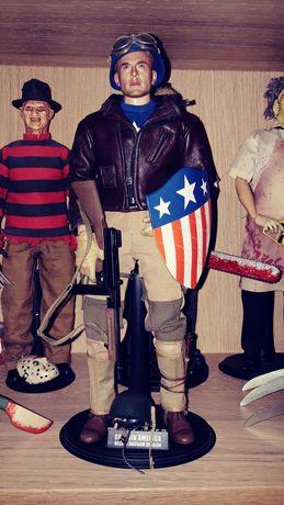 "Figurka 12"" 1/6 Captain America custom."