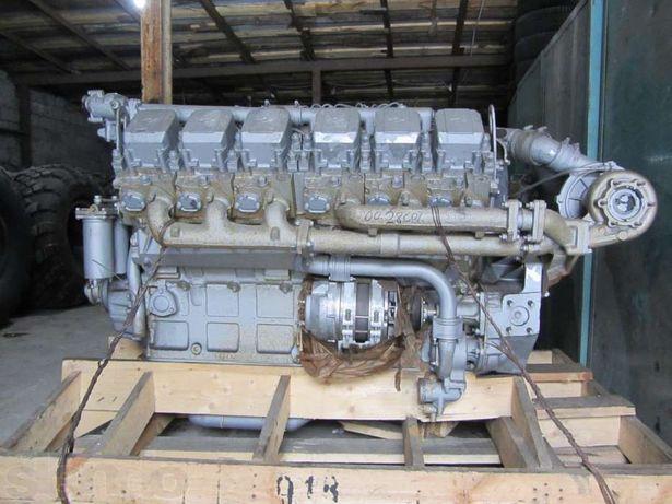 Дизельный двигатель ЯМЗ-240НM2 четырёхтактный двенадцатицилиндровый.