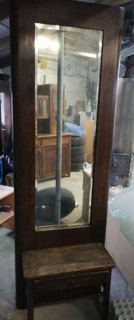 Antyczna komoda z lustrem