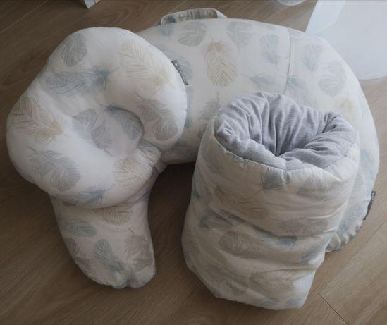 Valabia zestaw do karmienia + poduszka modelująca główkę