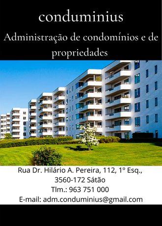 Administração de condomínios e de propriedades