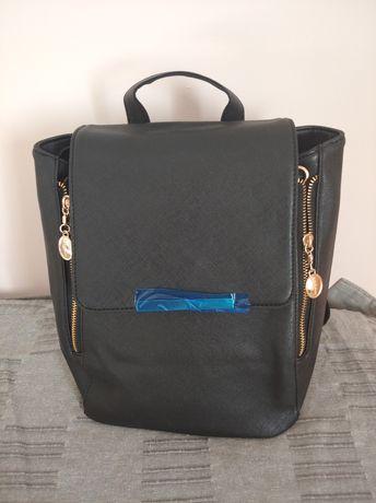 Plecaczek czarny NOWY