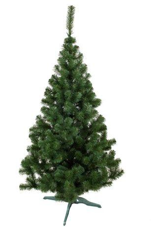 новогодняя елка, украшение для нового года, лесная, зеленая