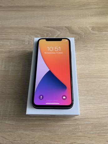 Iphone x 64gb. Space gray never