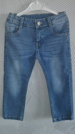 98 jeansy spodnie chłopiec  dziecko