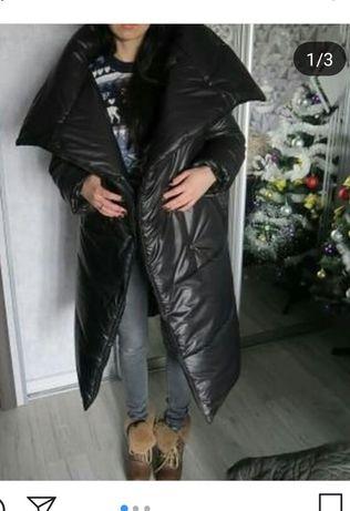 Пальто-одеяло зимнее
