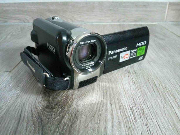 Kamera Panasonic SDR-H80 + torba + ładowarka