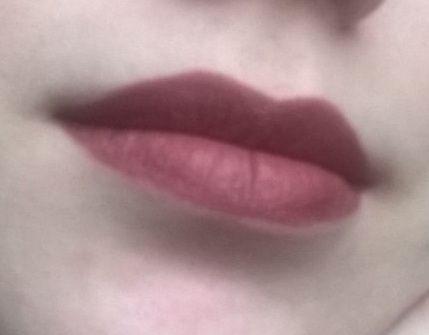 Матова губна помада ruby rose matte №74