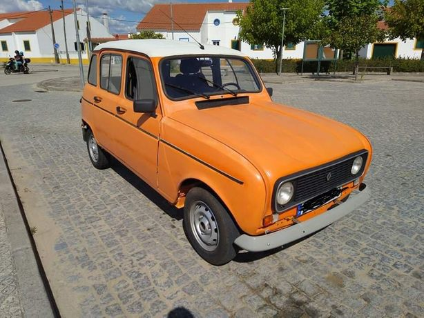 Renault 4 gtl insenta de selo