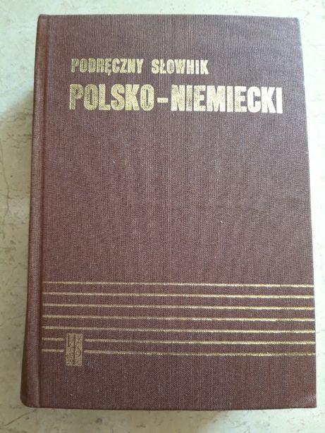 Podręczny słownik polsko niemiecki Wiedza Powszechna 1990