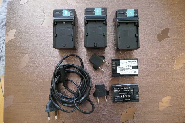 Baterie (zamienniki) do lustrzanki Canon LP-E6