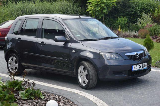 Mazda 2 1.4 Benzyna Automat Klimatyzacja Sprowadzony Gwarancja