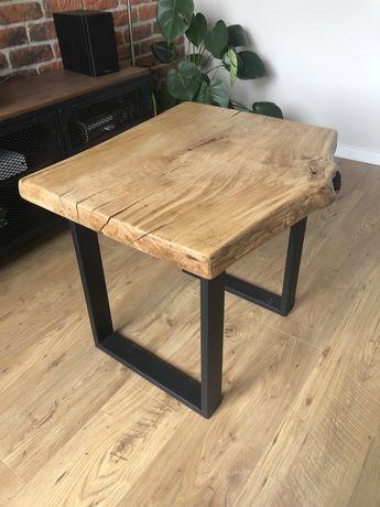 Stół drewniany dębowy, loft, stolik kawowy, stoły na zamówienie