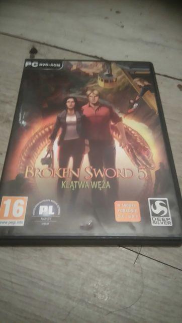 Broken Sword 5-klatwa weza gra komputerowa pc,pl