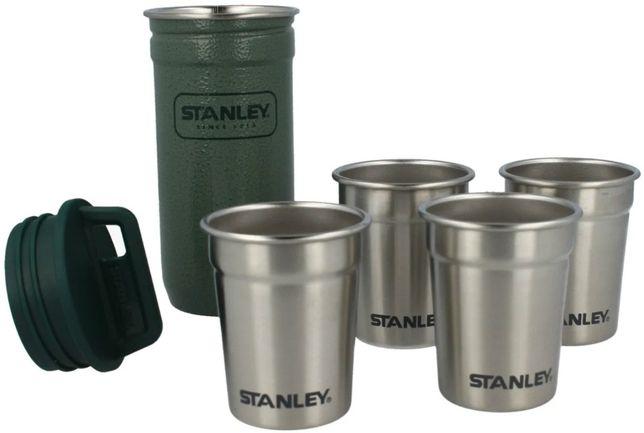 Набор Stanley Adventure Combo Hammertone Green: фляга та 4 рюмки