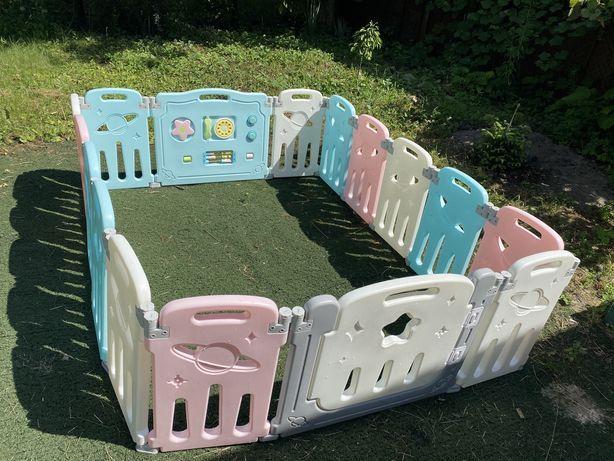 Манеж ограждение для детей. Забор детский.Домик для ребенка