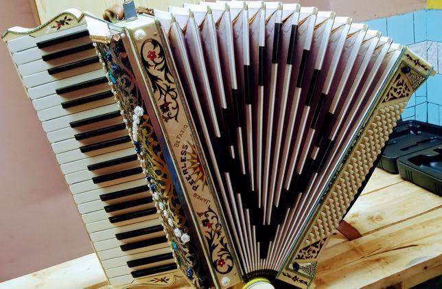 Akordeon Galanti 120b Włoski+wysyłką gratis
