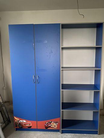 Комплект детской мебели(шкаф для одежды,книжный,тумба,буфет)