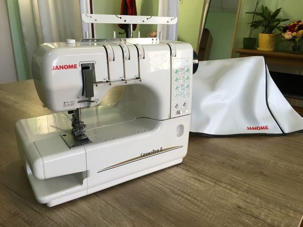 Распошивальная машина Janome Cover Pro 2  Практично нова, мало працюва