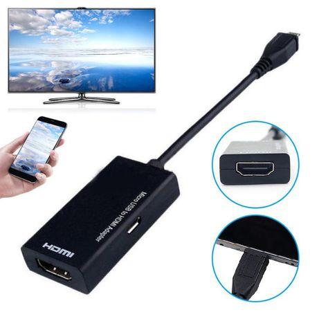 Micro usb para hdmi 1080 p hd cabo de vídeo de áudio para hdtv