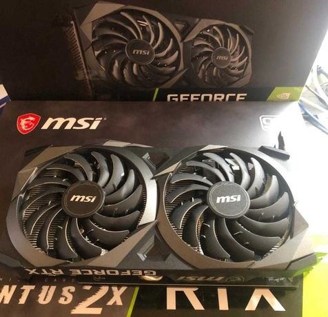 Placa Gráfica MSI GeForce RTX 3070 Ventus 2X 8G OC
