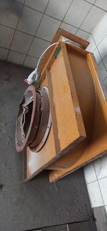 Wentylator odciąg do lakierki hali suszarni