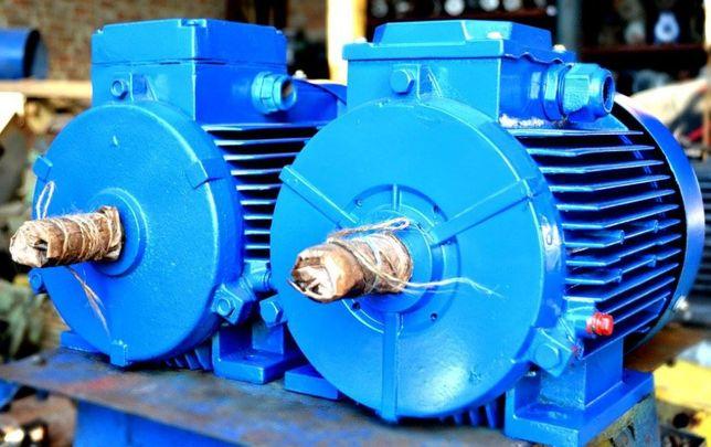 Электродвигатель 0.55квт,0.75,1.1,1.5,2.2,3,4,5.5,7.5,11,15 новый, б.у